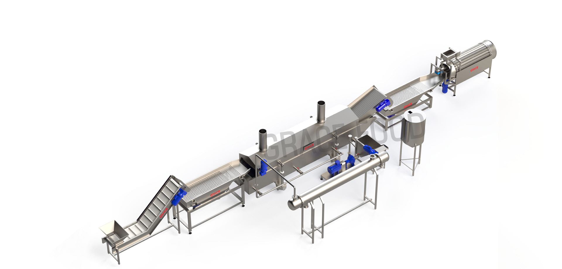 BANANA CHIPS LINE MACHINE
