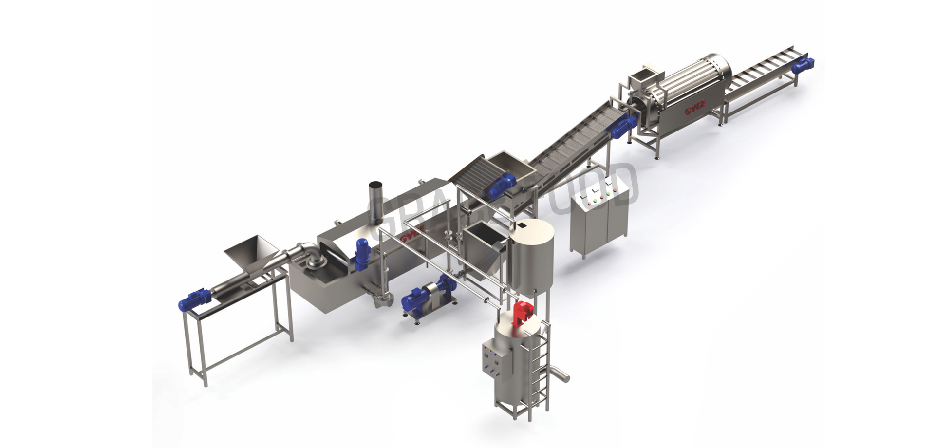 INDIAN SNACKS FRYING LINE/